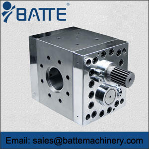 gear pumps for rubber applications